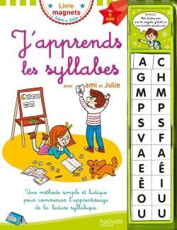 J'apprends les syllabes avec Sami et Julie Dès 5 ans (Livre-ardoise)