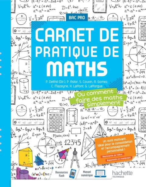Carnet de pratique de Mathématiques - Bac Pro -  Éd. 2021
