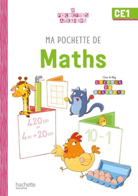 Ma pochette de maths CE1 - Les Pochettes Ateliers - Pochette élève - Ed. 2021