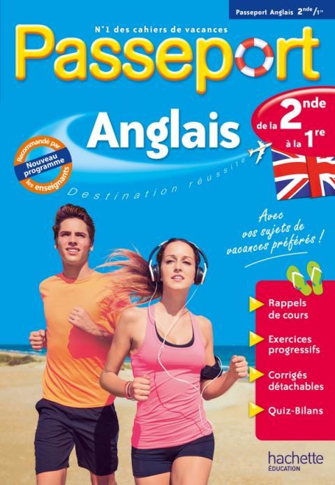 Passeport Cahier de vacances 2020 - Anglais de la 2de à la 1re