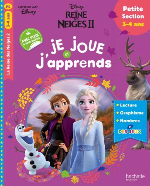 Disney - Reine des Neiges 2 - Je joue et j'apprends petite section (3-4 ans)