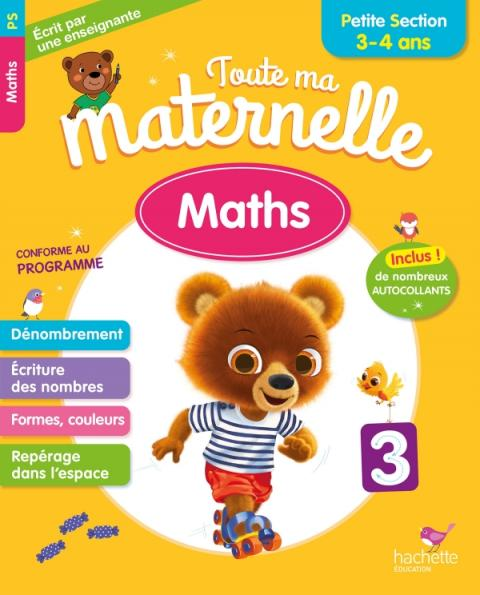 Toute Ma Maternelle - Maths Petite Section (3-4 ans)