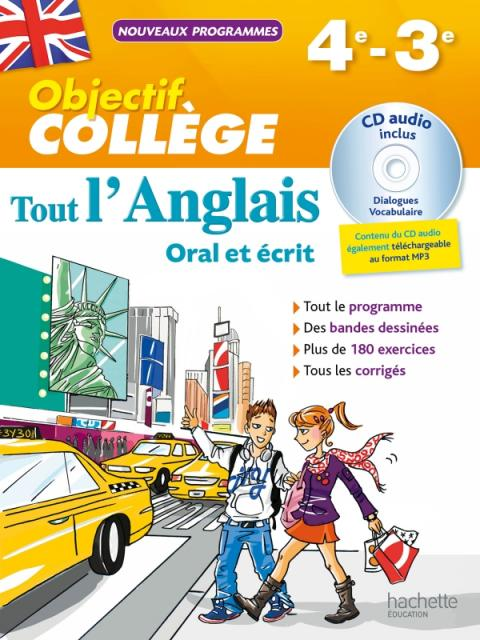 OBJECTIF Collège - Tout l'Anglais 4e-3e